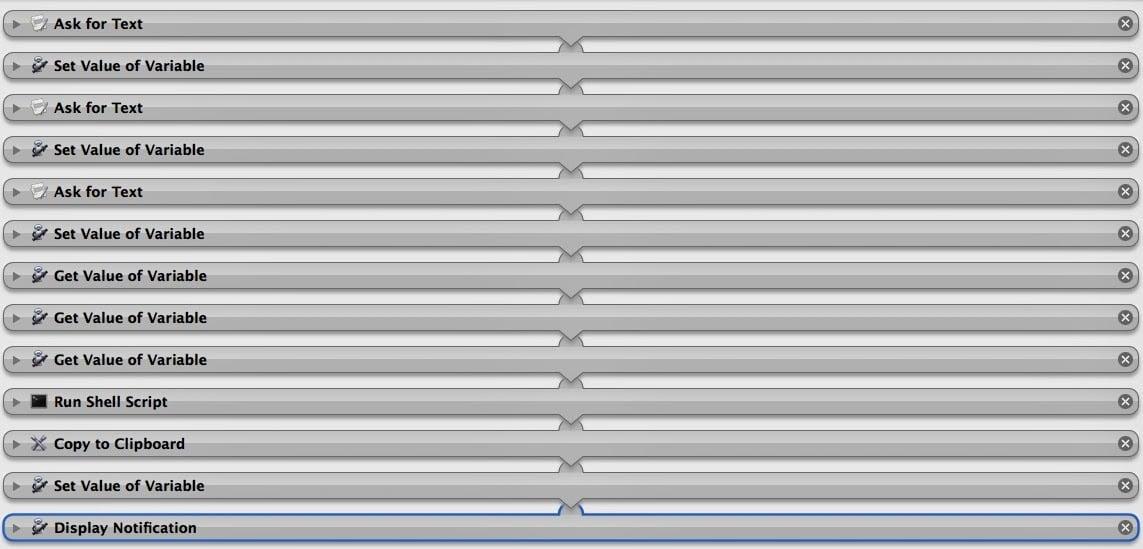 Outline Automator script
