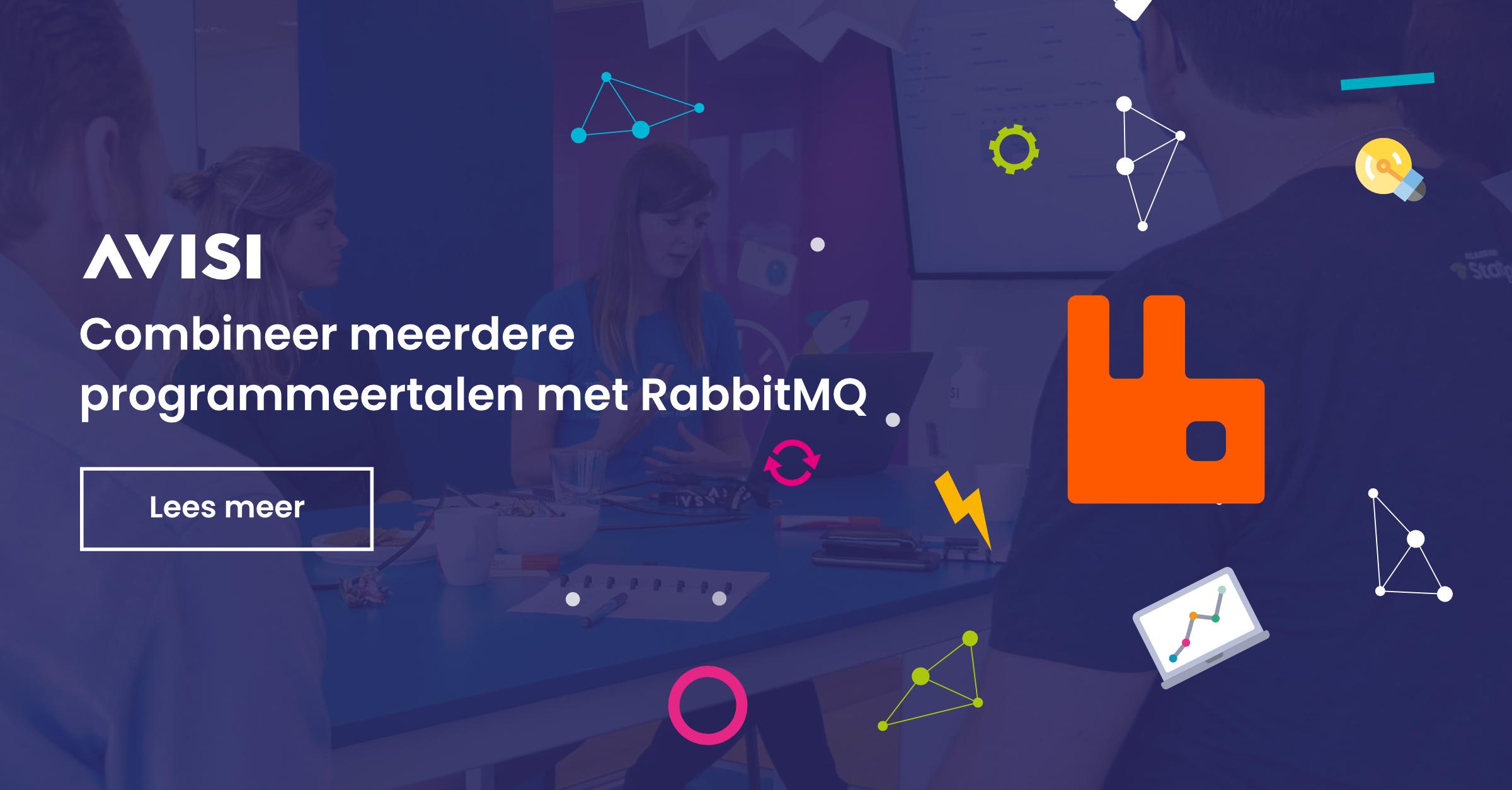 Combineer meerdere programmeertalen met RabbitMQ